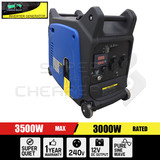 Remote Start 4 Stroke Pure Sine Wave Camping Inverter Power Generator 3.5KW Rate 3.0kW