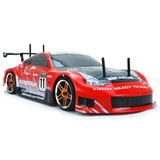 HSP 2.4G 1/10 Brushless Motor On Road Drifting RC Car Nissan 370z RED
