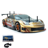 HSP 2.4G 1/10 Brushless Motor On Road Drifting RC Car Nissan 370z GOLD
