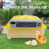 48 Egg Incubator Fully Automatic Digital LED Turning Chicken Duck Eggs Poultry