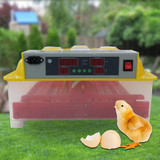60 Egg Incubator Fully Automatic Digital LED Turning Chicken Duck Eggs Poultry