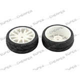 HSP Parts 82829 Wheel Complete & Tyres For 1/16 RC Car