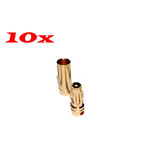 10 x RC Plane Car boats use 3.5mm Gold Banana Bullet Connector