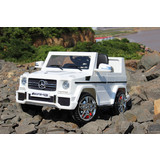 Licensed Mercedes Benz AMG G65 Kids Ride on Car With 2.4g remote controller white