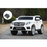 Licensed Mercedes Benz GL63 Kids Ride on Car With Remote controller white