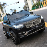 New Licensed Volvo XC90 Kids Ride on Car With 2.4Ghz remote controller black