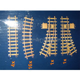 RC Train Tracks 1 Set of 22 PCS Item 5801