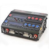 Ultra Power 100AC Duo 100W and 50W AC/DC Charger LiIon LiPo LiFe, NiCd/NiMH Battery