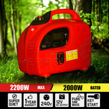Digital 2.0KW Max 2.2KW Rated Camping Portable Inverter Generator