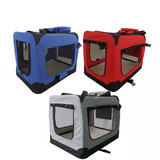 Pet Soft Crate Portable Dog Cat Carrier Travel Cage Kennel L XXXL Large Foldable