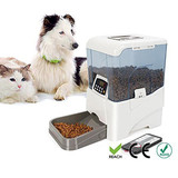 10.6L Automatic Program Auto Digital Pet Cat Dog Feeder Food Dispenser