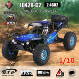 NEW WLtoys RC Car RTR 10428-C2 1/10 2.4G 4WD Crawler Off-Road Desert Buggy
