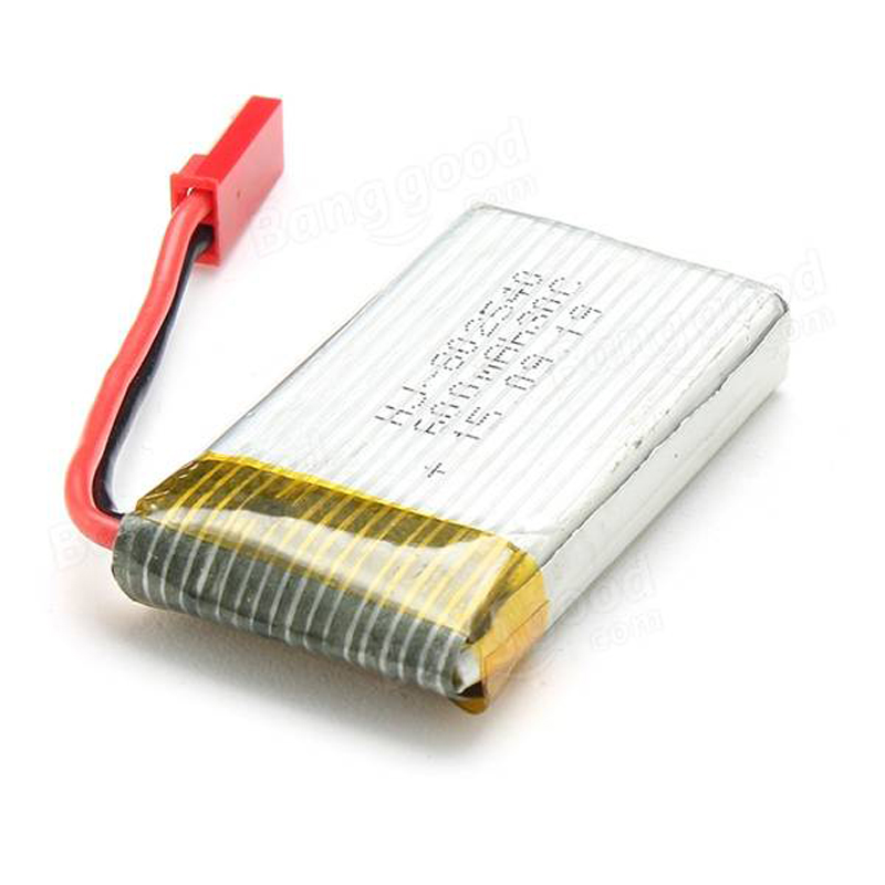 3.7v 600mAh Battery For JXD 509G FPV RC Drone Quadcopter Helicopter