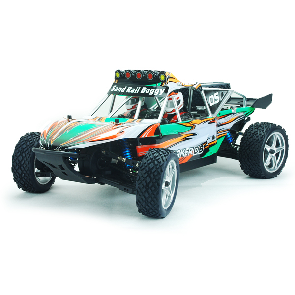 HSP 2.4ghz 1/10 Top Brushless 4WD Lipo Battery Dune Sand Rail RC Buggy