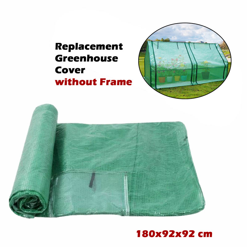180x92x92 cm Replacement Greenhouse Cover Garden Shed69 Plant Storage