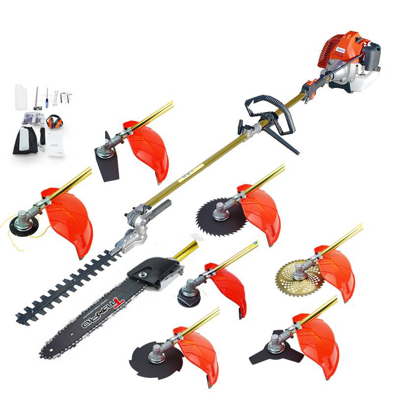 TmaxPro Pole Chainsaw Whipper Snipper Hedge Trimmer Brush Cutter Long Reach 58CC 9 in 1