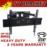 Lcd Led Tv Swivel Wall Mount Bracket 32 40 42 46 48 50 52 55 3M Hdmi