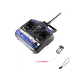 Fs Rc Plane Heli 2.4Ghz 6Ch Transmitter Receiver Ct6B Mode 2