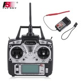 Flysky FS T6 2.4GHz 6CH Remote Control Transmitter Receiver Mode 2