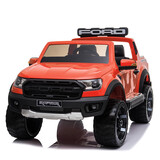 Licensed 2Wd Ford Ranger Raptor Electric  Kid Ride On Car  Remote Control Orange
