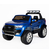 Licensed 4Wd 4X4 Ford Ranger Wildtrak Kid Ride On Car Truck Remote Control Blue