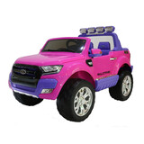 Licensed 4Wd 4X4 Ford Ranger Wildtrak Kid Ride On Car Truck Remote Control Pink