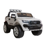 Licensed 4Wd 4X4 Ford Ranger Wildtrak Kids Ride On Car Truck Remote Control White