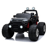 Licensed 4WD 4x4 Ford Ranger kid Ride On Car Monster Truck Remote Control Black