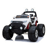 Licensed 4Wd 4X4 Ford Ranger Kid Ride On Car Monster Truck Remote Control White