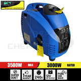 Portable 4 Stroke Pure Sine Wave Petrol Power Inverter Generator Max 3.5KW Rate 3.0kW