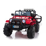 Jeep Style Electric kids Ride On Car 12V Battery 2.4G Remote Red