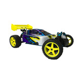 Hsp Remote Control Rc Car 1/10 2.4Ghz 2Speed Nitro 4Wd Off-Road Buggy 10071
