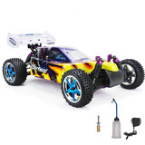 Hsp Remote Control Rc Car 1/10 2.4Ghz 2Speed Nitro 4Wd Off-Road Buggy 10716 10717