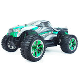 HSP RC Remote Control Car 1/10  Electric 4WD OFF Road Brontosaurus Monster Truck  Green