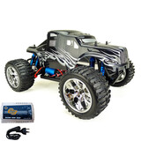 HSP 1/10 RC Remote Control Car Brushless 4WD Monster Truck Pro + Lipo Battery 88035