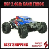 Hsp 2.4Ghz Rc Car 1/10 4Wd Electric Power Dune Sand Rail Truck 94204