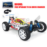 HSP 2.4ghz RC Remote Control Car TOP BAZOOKA 4s lipo 1/8 Brushless Motor 100A ESC 4WD Buggy