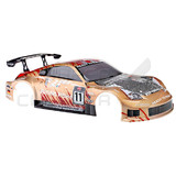 Hsp Rc Car 1/10 Flying Fish On Road Drifting Body Shell 12311 Gold Nissan Fairlady Z370