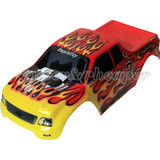 Hsp 1/10 Rc Car Truck Painted Body Shell Part 88003