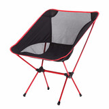 Mini Portable Folding Outdoor Camping Fishing Picnic Bbq Beach Chair Seat Red