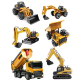 RC Construction Car Dump Excavator Bulldozer Remote Control Truck RTR Movable Lifting Arm