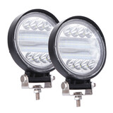 2X 4 Inch 72W Led Work Light Bar Flood Spot Combo Driving Lamp For Truck Offroad