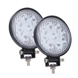 2x 4 inch 27W 9LED Round LED Work Light Bar Spot Lamp Headlight Car Driving