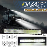 22Inches 528W LED Work Light Bar Offroad Driving Lamp 4WD ATV Spot Floodlight