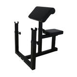Commercial Gym Fitness Preacher Curl Bench Weights Dumbbell Bicep V