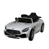 Mercedes Benz Licensed Kids Electric Ride On Car 12V Remote Control Amg Gtr White