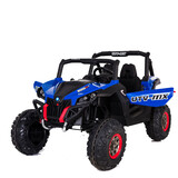 New Utv Style Electric Kids Ride On Car 24V Battery 2 Seats 2.4G Remote Blue