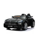 Licensed Mercedes Benz AMG GTR Remote Control Ride On Car 2 Seater Black