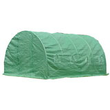 Walk In Greenhouse Garden Shed Tunnel Plant Storage Cover Green House 4x3x2M