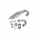 HSP 1/5 Bajer Upgrade Parts Aluminum Polished Exhaust Pipe 54086